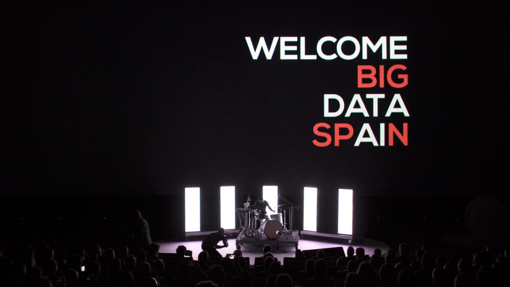 Big Data Spain show welcome
