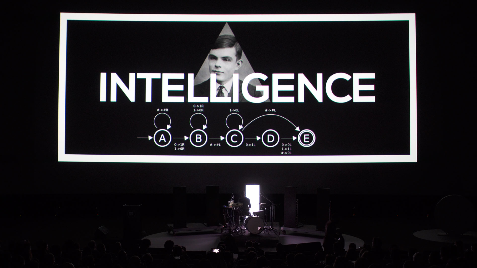 Big Data Spain show Alan Turing