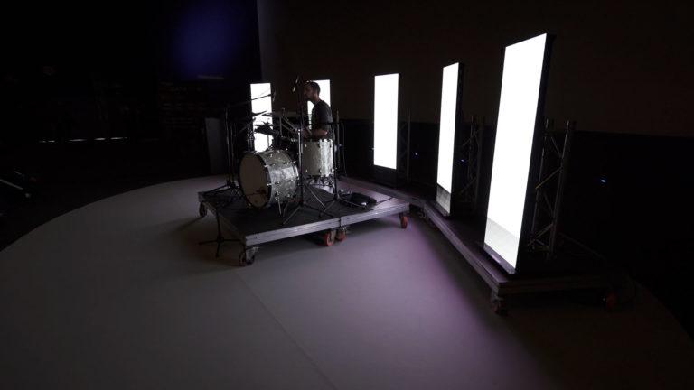 Big Data Spain show batería Serch Geval
